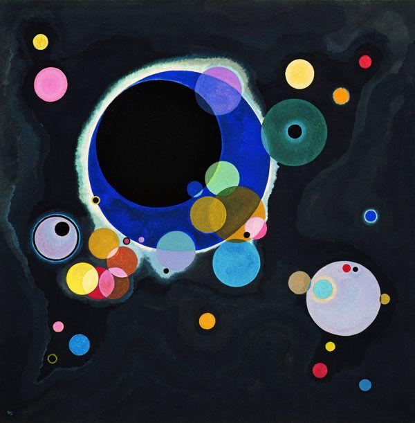 Kandinsky-Alcuni cerchi