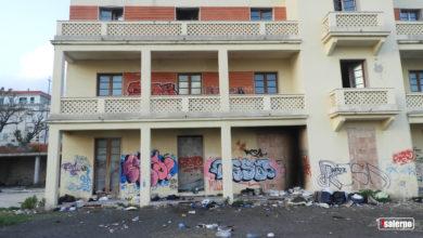 Photo of Salerno, Quartiere Torrione, l'Ex Ostello della gioventù in totale degrado