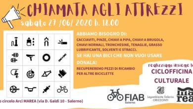 """Photo of Salerno: """"Chiamata agli Attrezzi"""" per la Ciclofficina Culturale"""