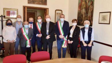 Photo of L'arcivescovo di Salerno-Campagna-Acerno, S.E. Mons. Andrea Bellandi, ha incontrato il Comitato per il progetto di realizzazione della tratta ferroviaria Eboli-Calitri-Pescopagano