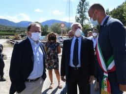 Photo of Ambiente, Discarica di Parapoti a Montecorvino Pugliano, sopralluogo con il Governatore De Luca