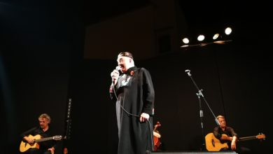 "Photo of Peppe Barra in concerto con ""Tiempo"" al Teatro Barbuti"