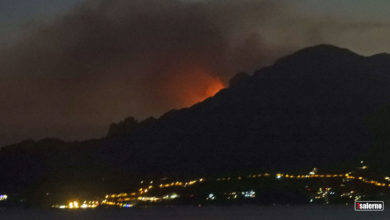 Photo of Incendi in Costiera Amalfitana: Maiori e Corbara