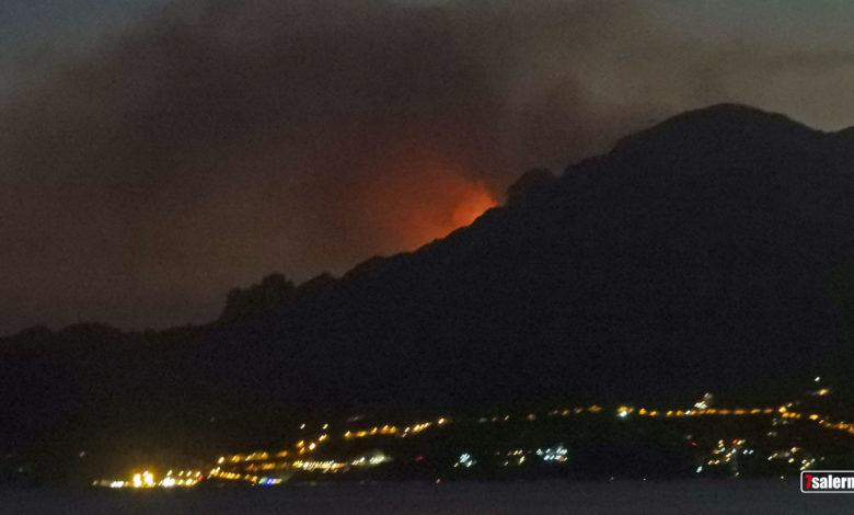 Incendi in Costiera Amalfitana, 2020