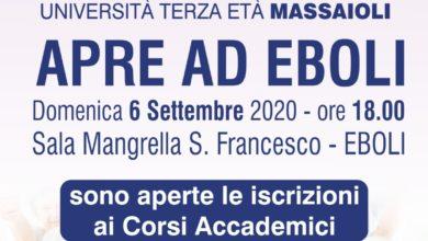 Photo of Eboli: nasce l'Università della Terza Età