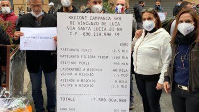 Photo of Salerno: la protesta dei ristoratori alle restrizioni dei DPCM Covid