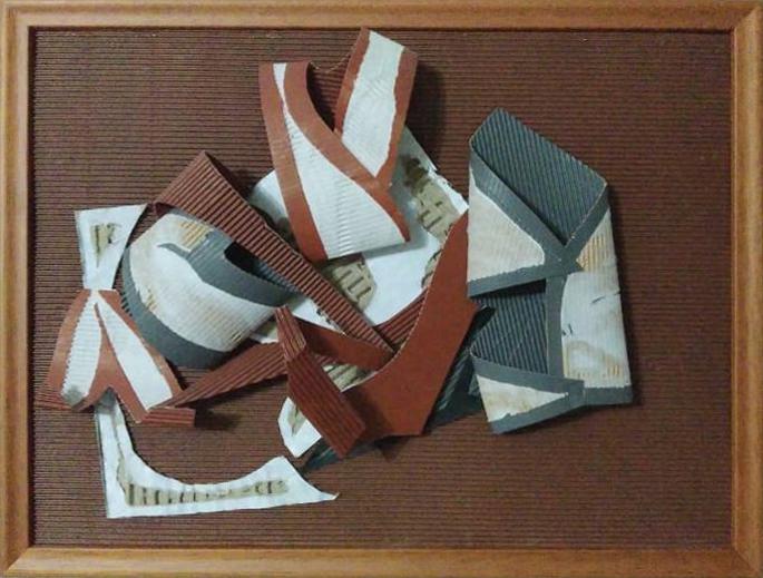 Iraceia de Oliveira-Paper Sculpture
