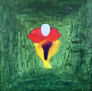 Roberto Bellucci, Solo-olio su tela, 100x100, 2021