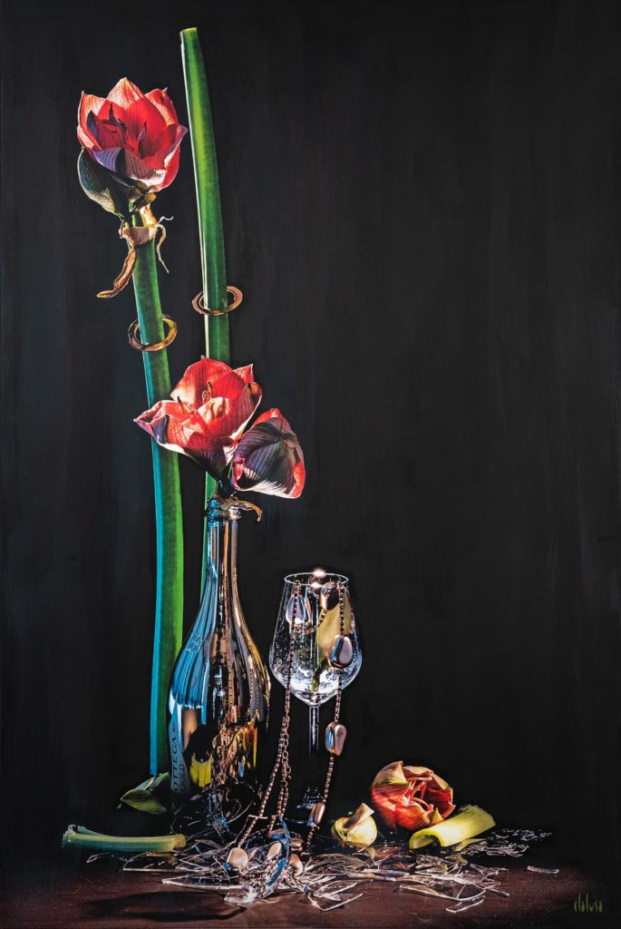 Clalusa 2020-Amore e TormentoTecnica Fotografia su Tela - 7Gallery di Sevensalerno
