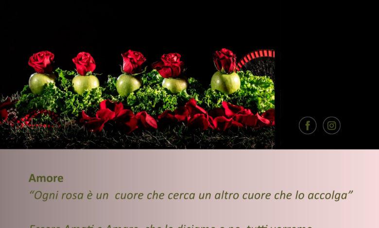 Clalusa 2021-Amore- Tecnica Mista Fotografica, Digitale e Pittorica su Tela, cm 100x100-7Gallery di Sevensalerno